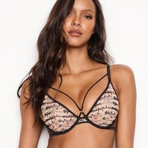 2/$33 ❤️ VS Very Sexy Unlined Strappy Plunge Bra